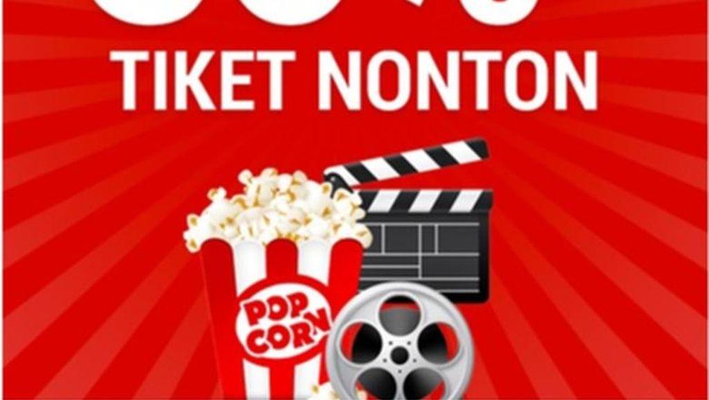 Mulai Hari Ini, Anda Bisa Hemat 50% Setiap Beli Tiket Nonton Bioskop