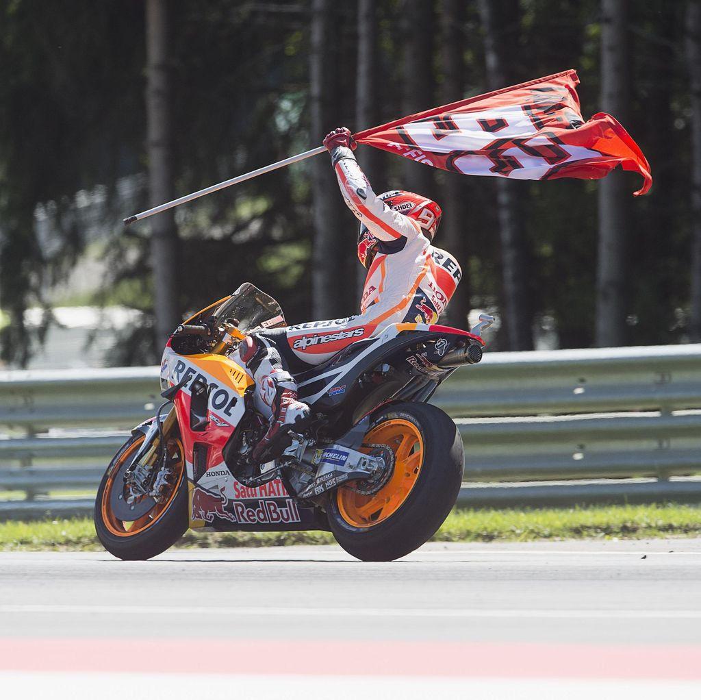 Dibayangi Cedera, Marquez Targetkan Kembali ke Podium di Brno