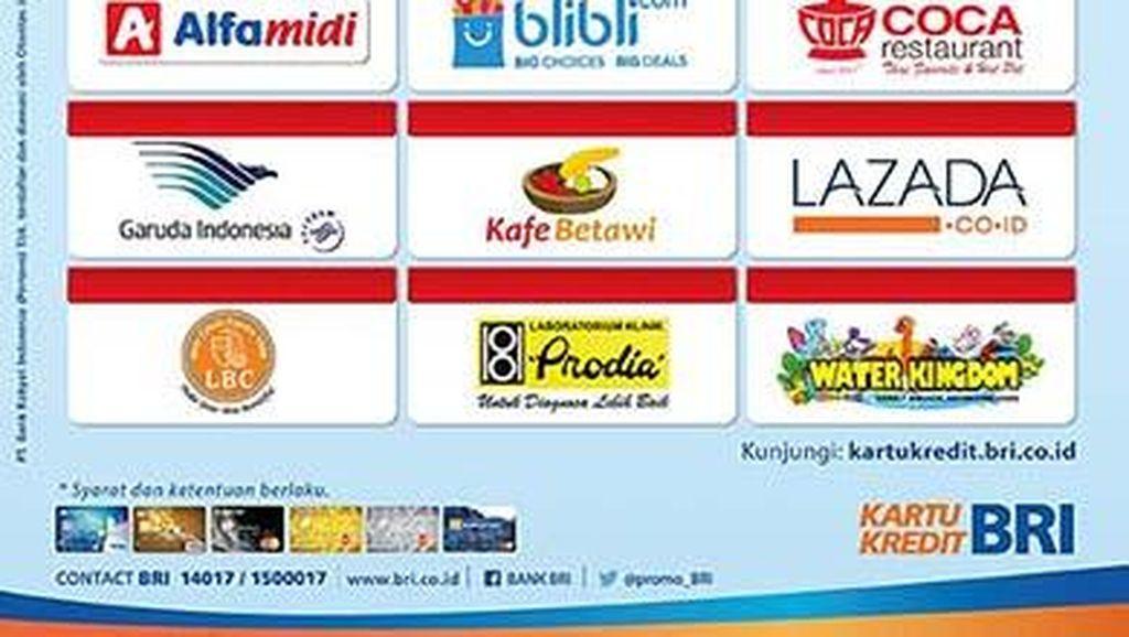 Nikmati Berbagai Promo Kemerdekaan dari Kartu Kredit BRI