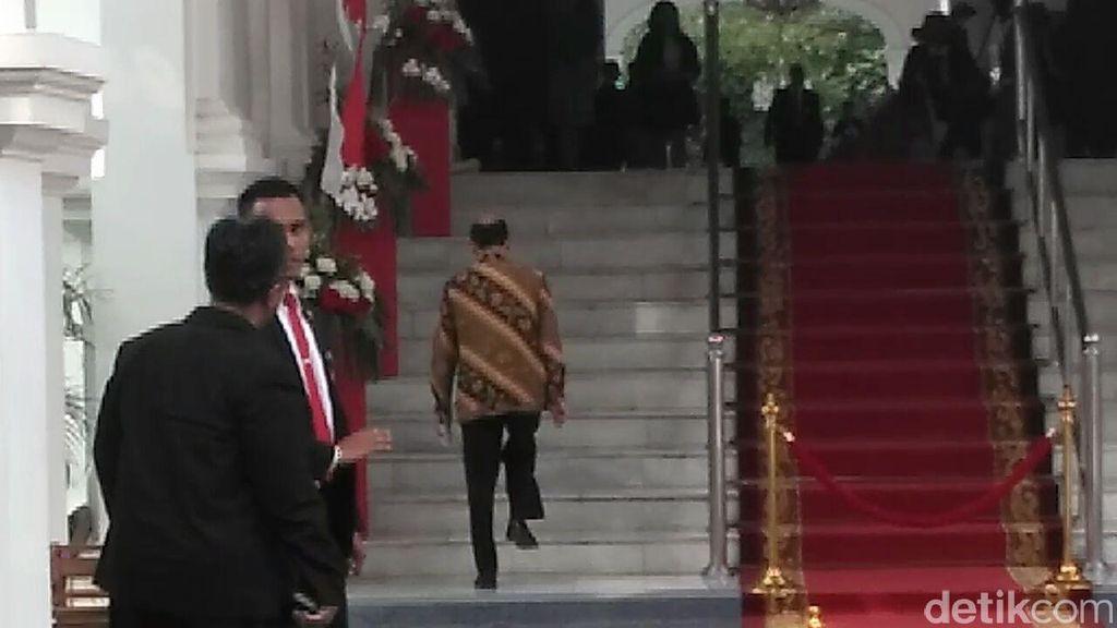 Temui Presiden Jokowi di Istana, Arcandra: Hanya Silaturahmi