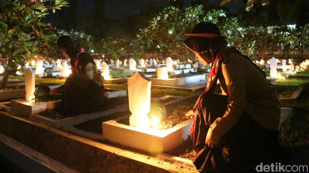 Syahdunya Upacara Mengenang Arwah Para Pahlawan di Banyuwangi