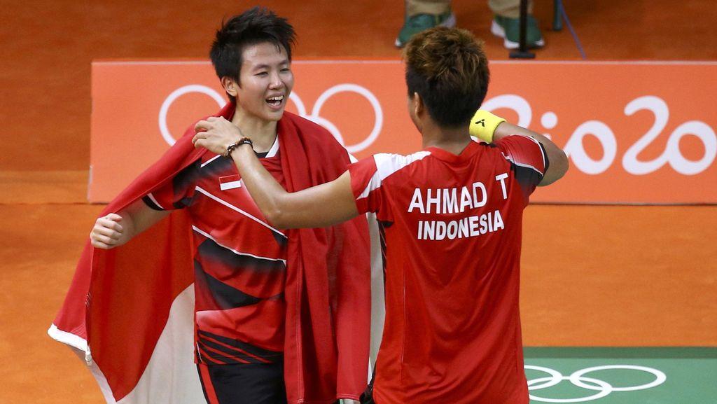 Touch Down! Pahlawan Olahraga Indonesia di Olimpiade Mendarat di Soetta