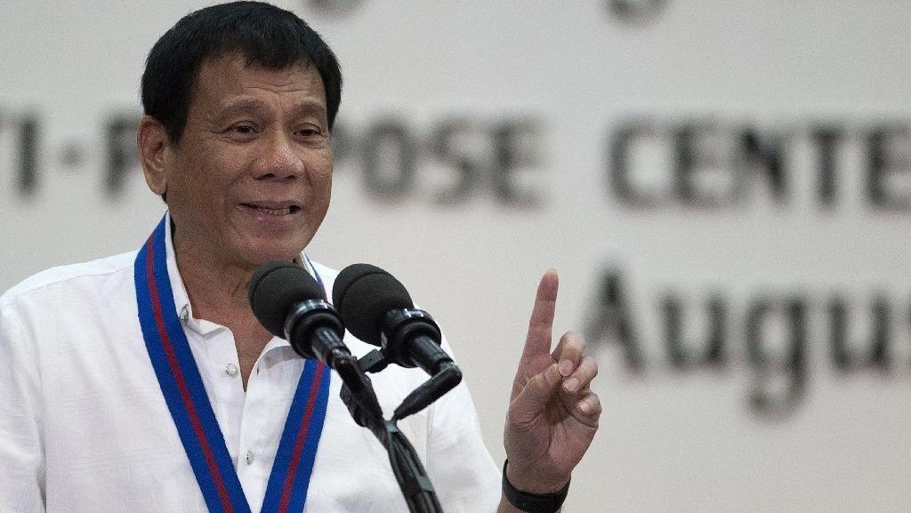 Presiden Duterte ke Indonesia September, Bahas Diplomasi Hingga Abu Sayyaf