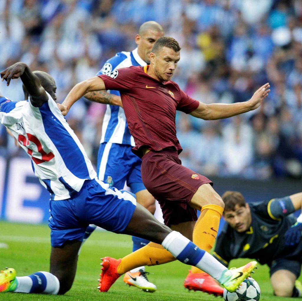 Porto vs Roma Berakhir Imbang 1-1