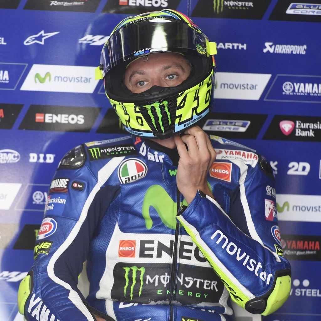 Rossi Sebut Posisi Lima di Latihan Bebas Kedua Tak Buruk