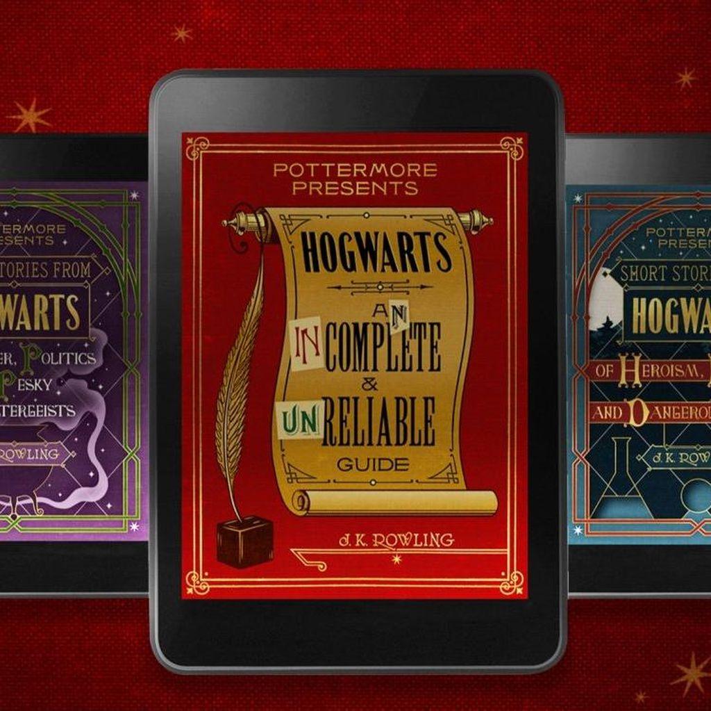 J.K.Rowling Rilis e-Book Cerpen tentang Hogwarts
