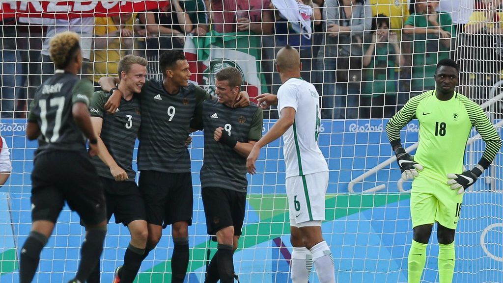 Menang atas Nigeria, Jerman Hadapi Brasil di Final