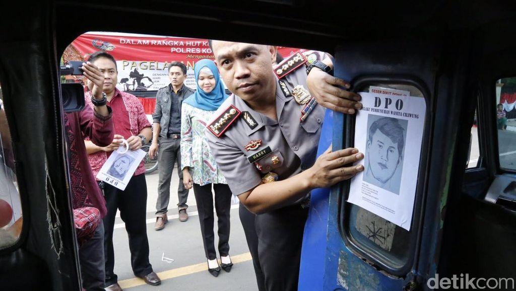 Polisi Sebar Sketsa Diduga Pelaku Pembunuhan Wanita Hamil di Sungai Ciliwung