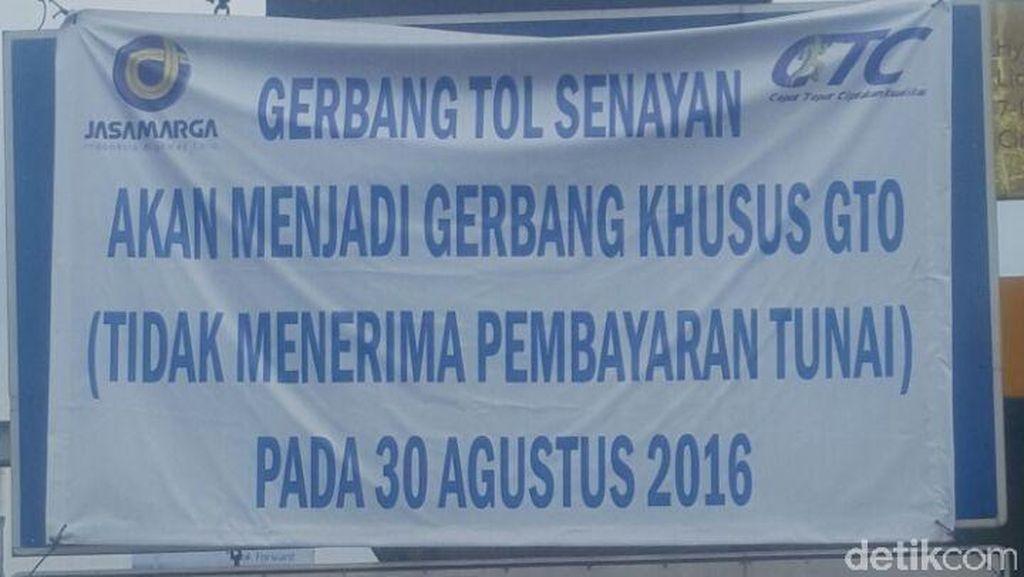 Gerbang Tol Senayan Tak Lagi Layani Pembayaran Tunai Mulai 30 Agustus