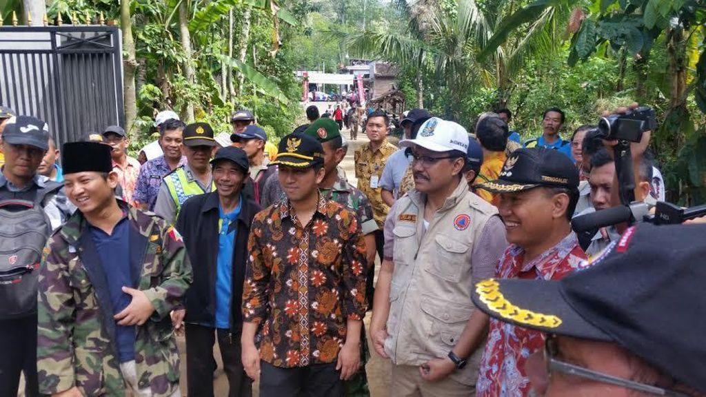 Bupati Trenggalek Tetapkan Darurat Bencana Banjir dan Longsor
