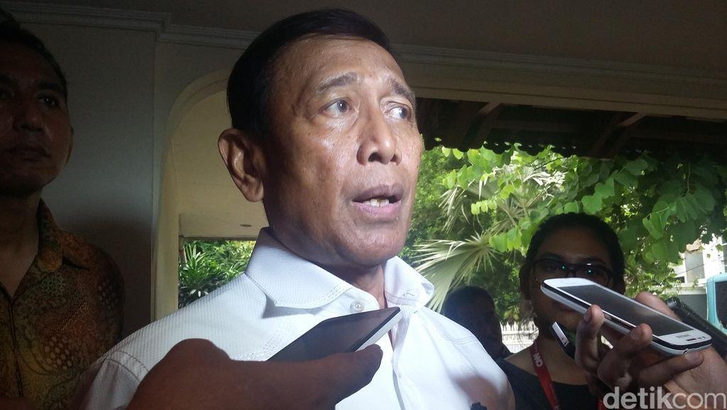 Wiranto: Ada Tulisan I Love Al-Baghdadi di Ransel Pelaku Bom di Medan