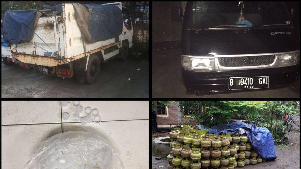 Polisi Bongkar Pangkalan Penyuntik Gas Oplosan 12 Kg di Tangerang
