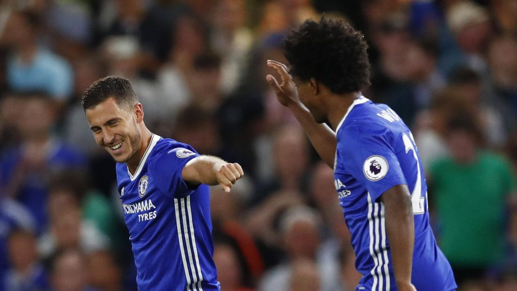 Hazard Dinilai Jadikan Chelsea Favorit Juara Premier League