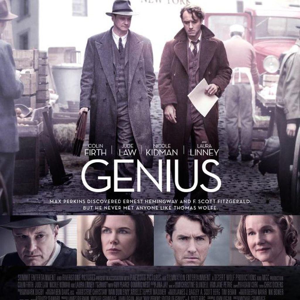 Kisah Persahabatan Penulis dan Editor di Film Genius