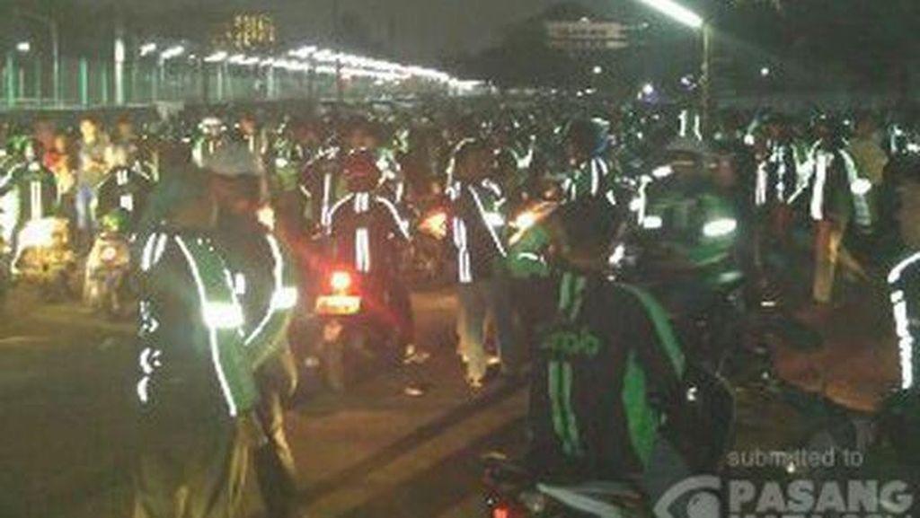 Polisi: Keributan di Depan Detos Berawal dari Ojek Online yang Mangkal di Jalan