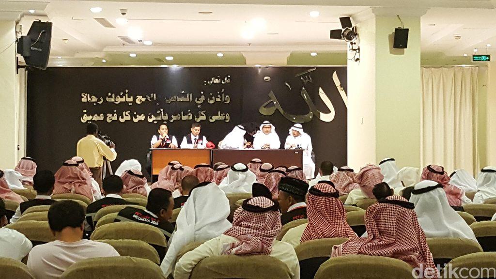 Kabar Gembira untuk Jemaah, Kini Ada Karpet di Muzdalifah