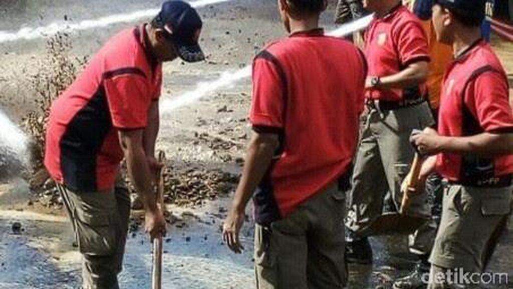 Prajurit Kodam V Brawijaya Siaga Bencana di Trenggalek