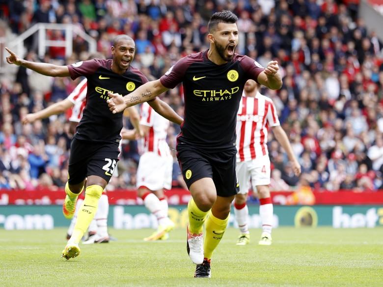"""""""Bandar Bola - The Citizens Kalahkan Stoke Dengan Skor 4-1"""""""