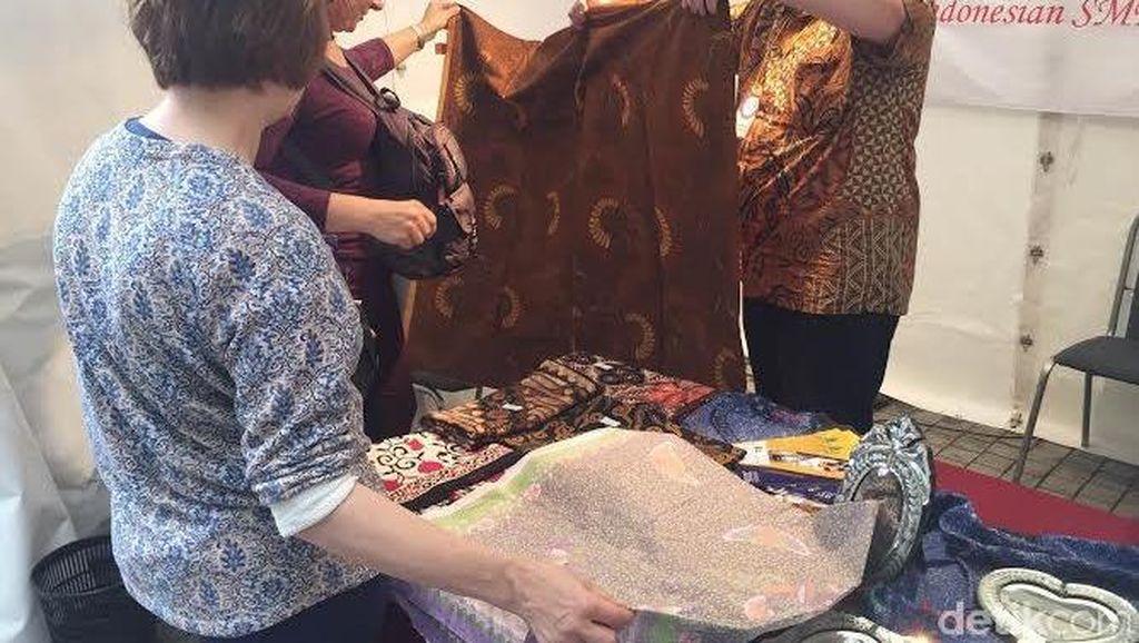 Batik dan Sate Jadi Primadona Festival Indonesia di Rusia