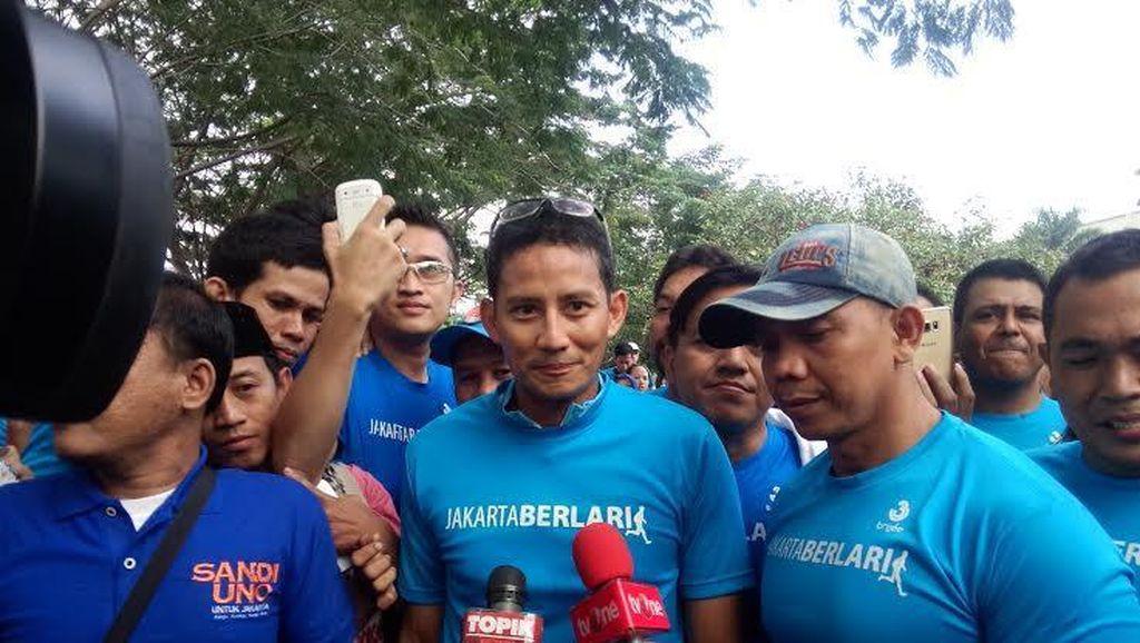 Sandiaga Uno Lari Pagi Bersama Warga di KBT
