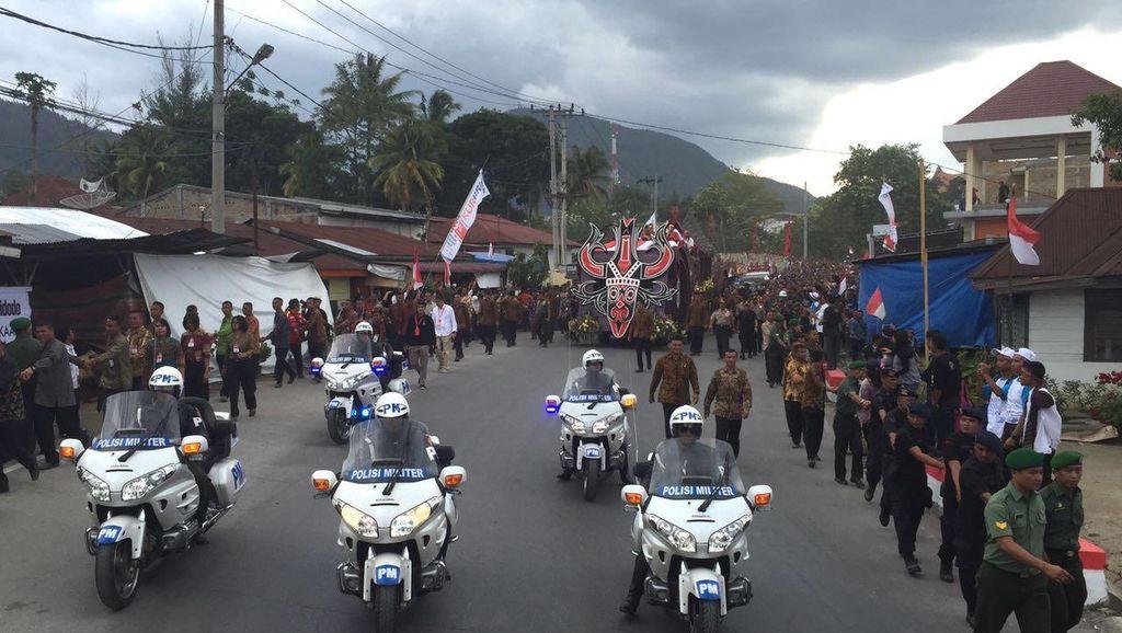 Jokowi: Karnaval Pesona Danau Toba Harus Dilanjutkan Tiap Tahun