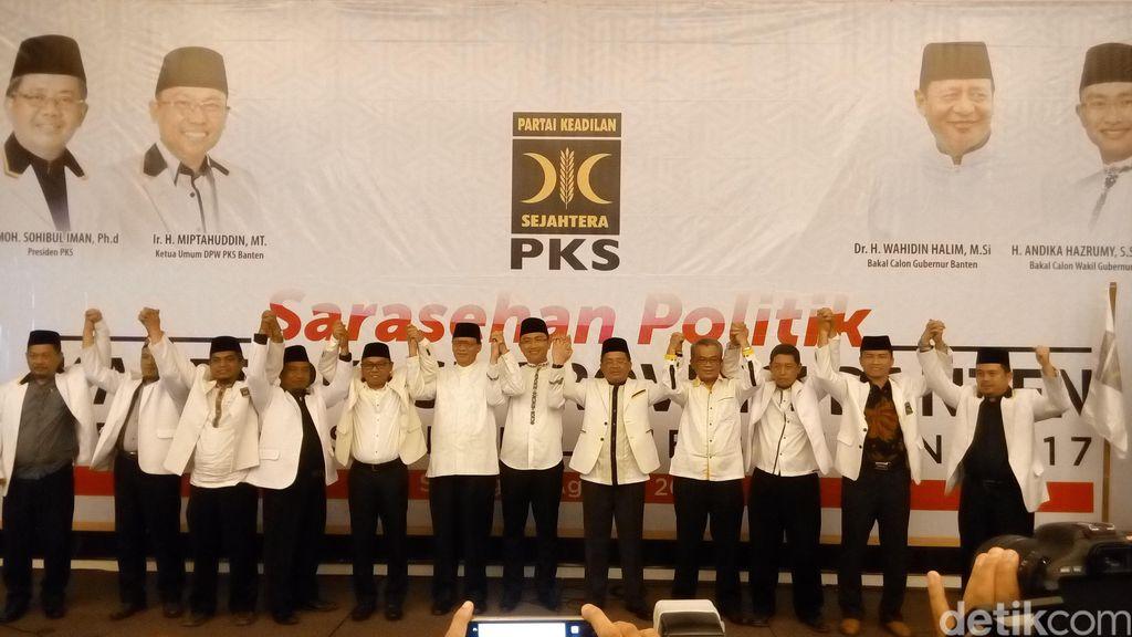 PKS Deklarasi Dukung WH-Andika di Pilgub Banten