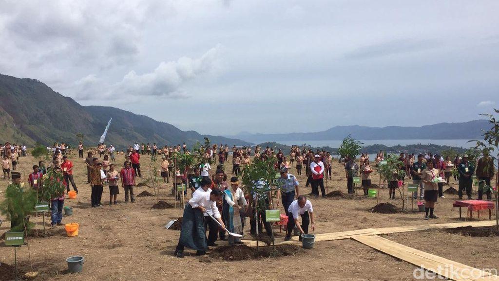 Hijaukan Danau Toba, Jokowi: Kalau Tanam 1 Juta Pohon yang Tumbuh Harus 1 Juta