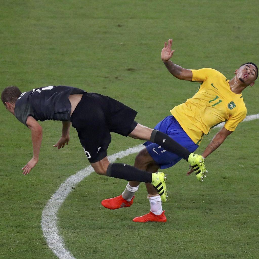 Brasil Raih Medali Emas Sepakbola Usai Atasi Jerman dalam Adu Penalti