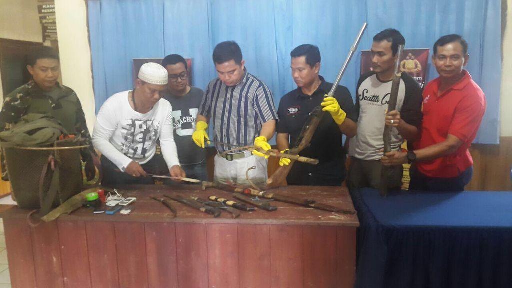 Polisi Bekuk Komplotan Perampok Sadis yang Mutilasi Korbannya di Kaltim