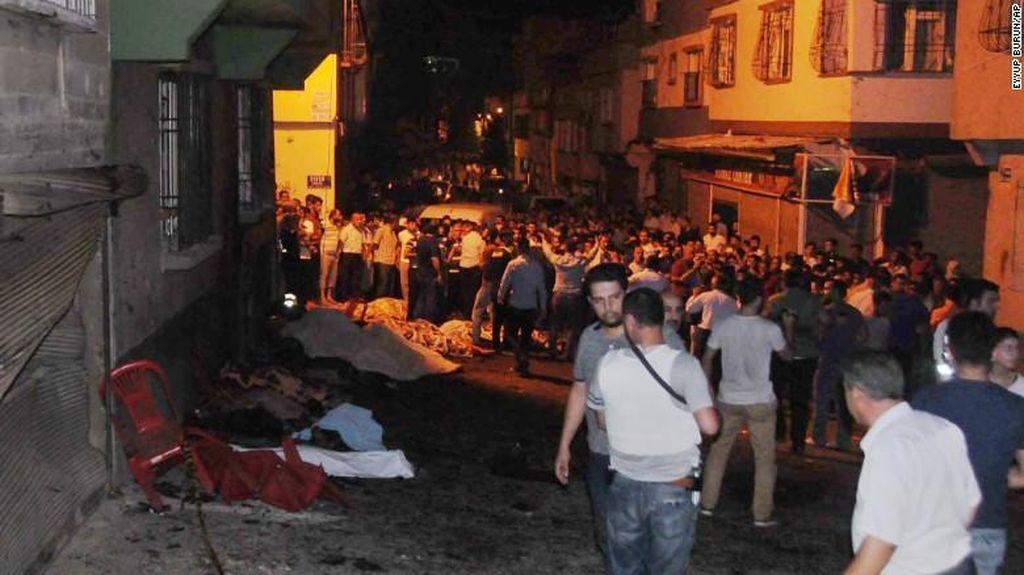 AS dan Sekjen PBB Kutuk Serangan Bom di Pesta Pernikahan di Turki