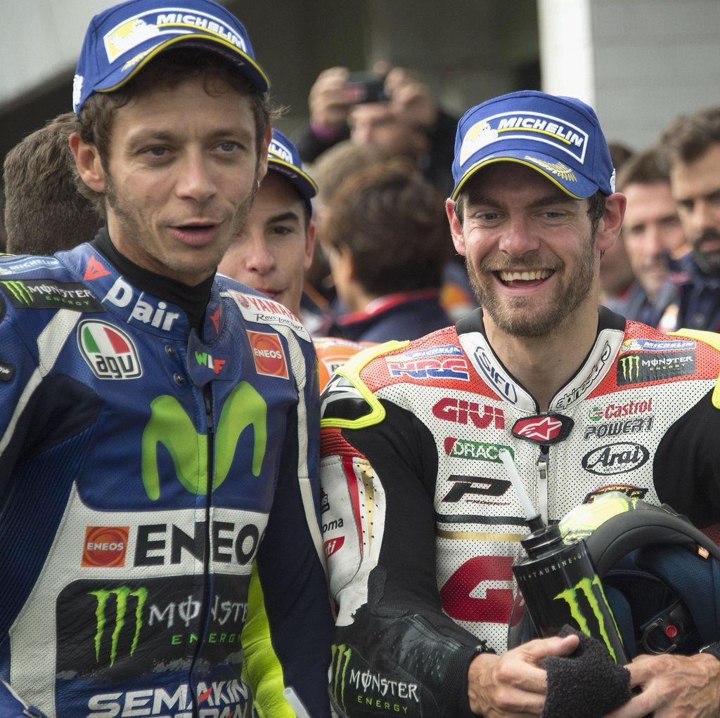 Soal Pemilihan Ban, Rossi: Saya Tidak Seberani Crutchlow