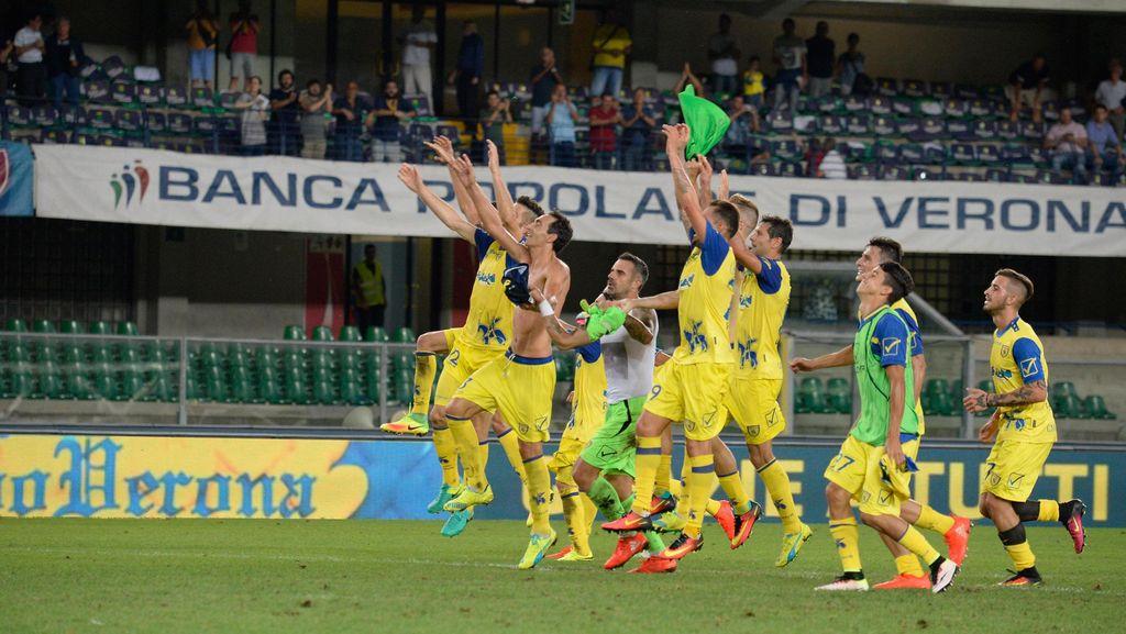 Chievo Taklukkan Inter Berkat Mentalitas Luar Biasa