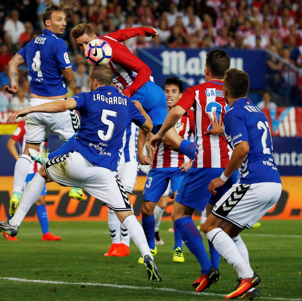 Dua Gol di Injury Time, Atletico Lawan Alaves Selesai 1-1