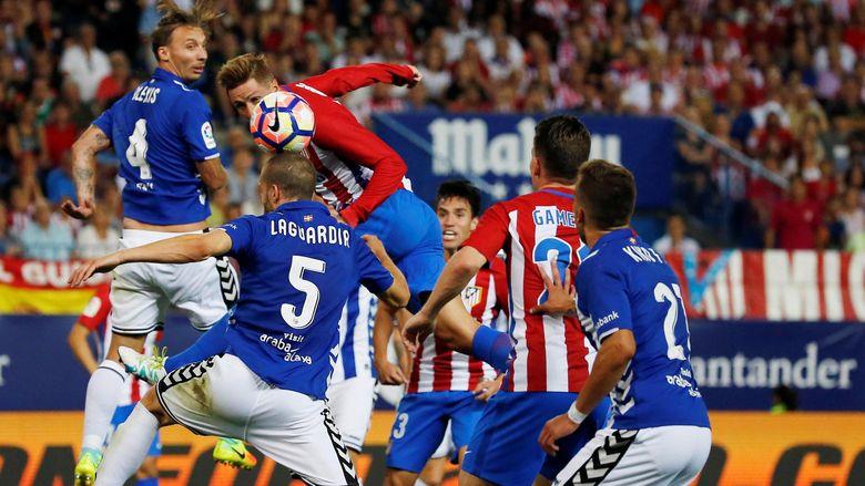 Dua Gol di Injury Time, Atletico Lawan Alaves Selesai 1-1