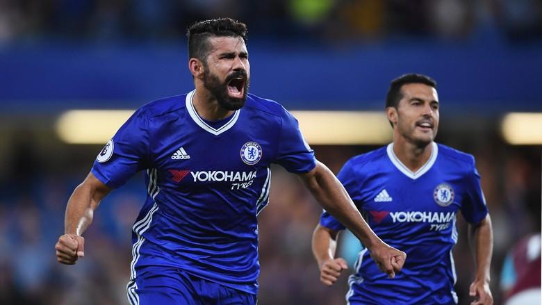 Conte Ingin Costa Fokus Saja Pada Pertandingan Bersama Chelsea