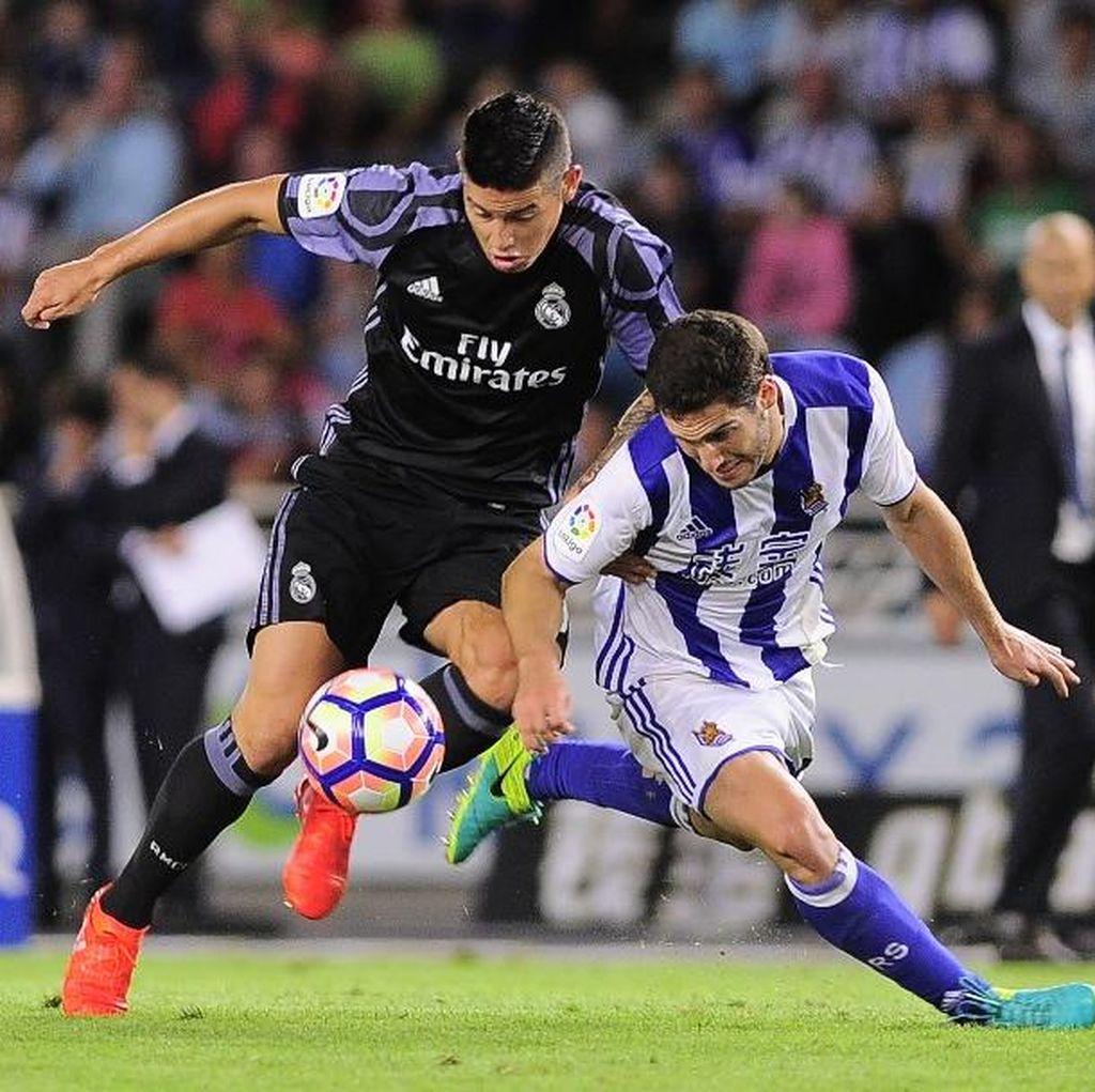 Sekali Lagi Zidane Tegaskan James Rodriguez Bahagia di Madrid