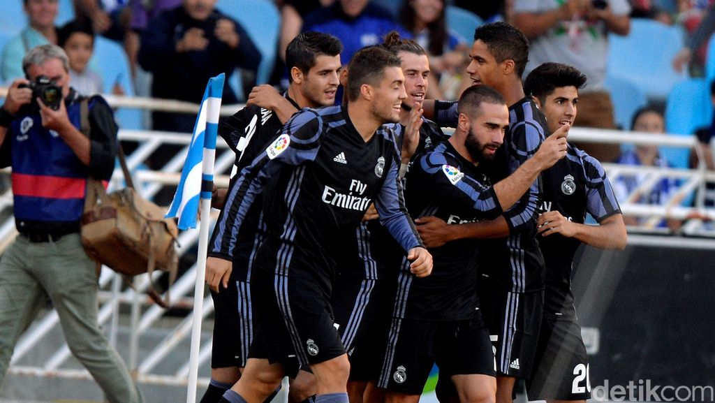 Madrid Memulai Usaha Akhiri Paceklik Titel La Liga dengan Mantap