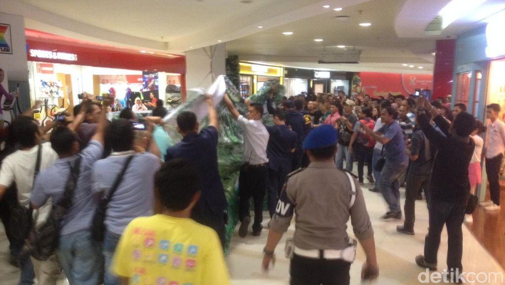 Seorang Pria Tewas Terjatuh di Mall Centre Point Medan