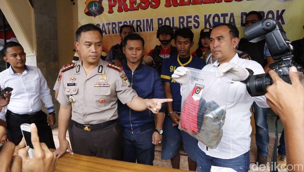 Polisi Tangkap Pembunuh Wanita Hamil yang Dibuang ke Kali Ciliwung