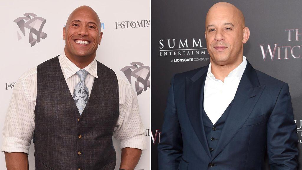 Hubungan Vin Diesel dan Dwayne Johnson Memburuk?
