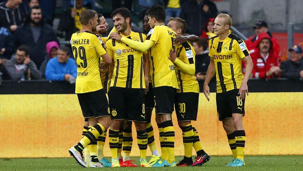 Menang Mudah, Dortmund Lolos ke Babak Kedua