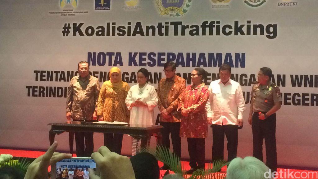 7 Lembaga Negara Bentuk Koalisi Anti Trafficking