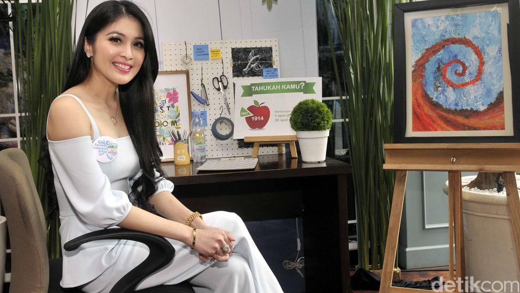 Sandra Dewi Ngebet Punya Anak Ketimbang Nikah