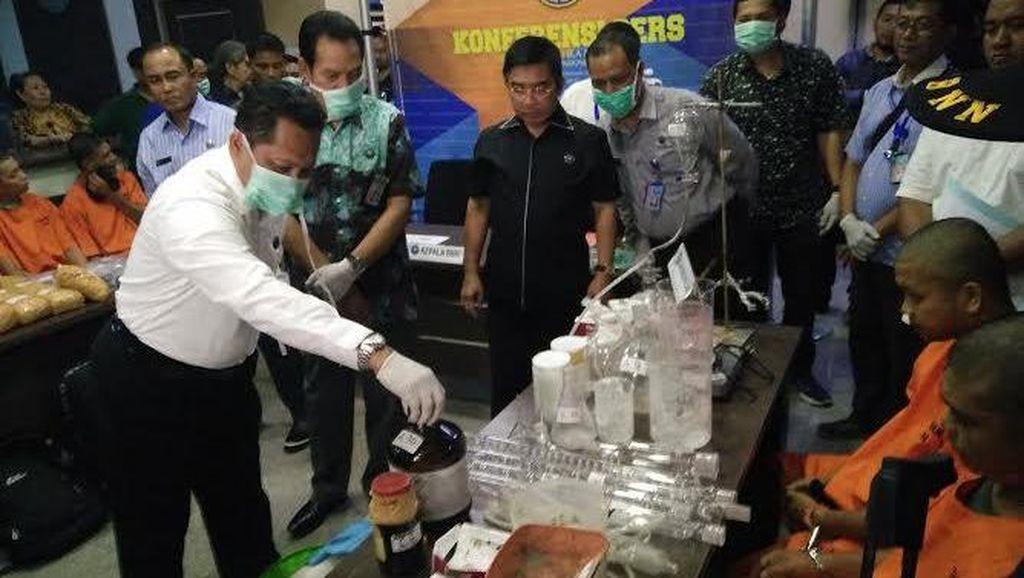 BNN Bongkar Pabrik Sabu di Aceh, 2 Orang Ditangkap