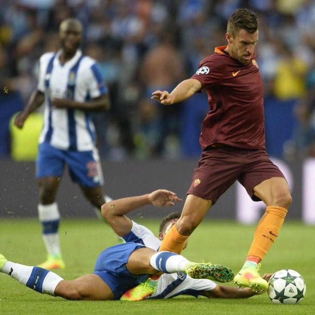 Hanya Butuh 0-0, Giallorossi Tetap Incar Kemenangan Lawan Porto