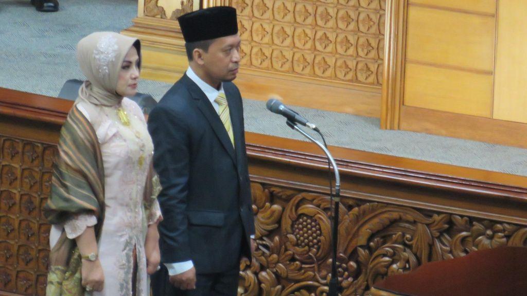 2 Anggota DPR Baru Pengganti Gamari Sutrisno dan Budi Supriyanto Dilantik