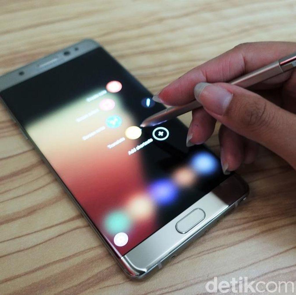 Produk Pengganti Galaxy Note 7 Dilaporkan Bermasalah