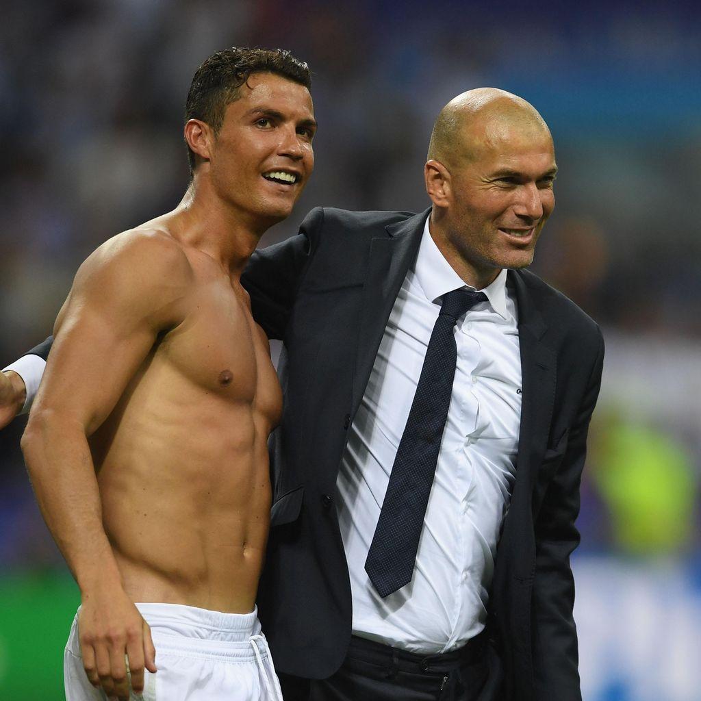 Ronaldo Soal Kesuksesan Musim Lalu: Penunjukkan Zidane Kuncinya