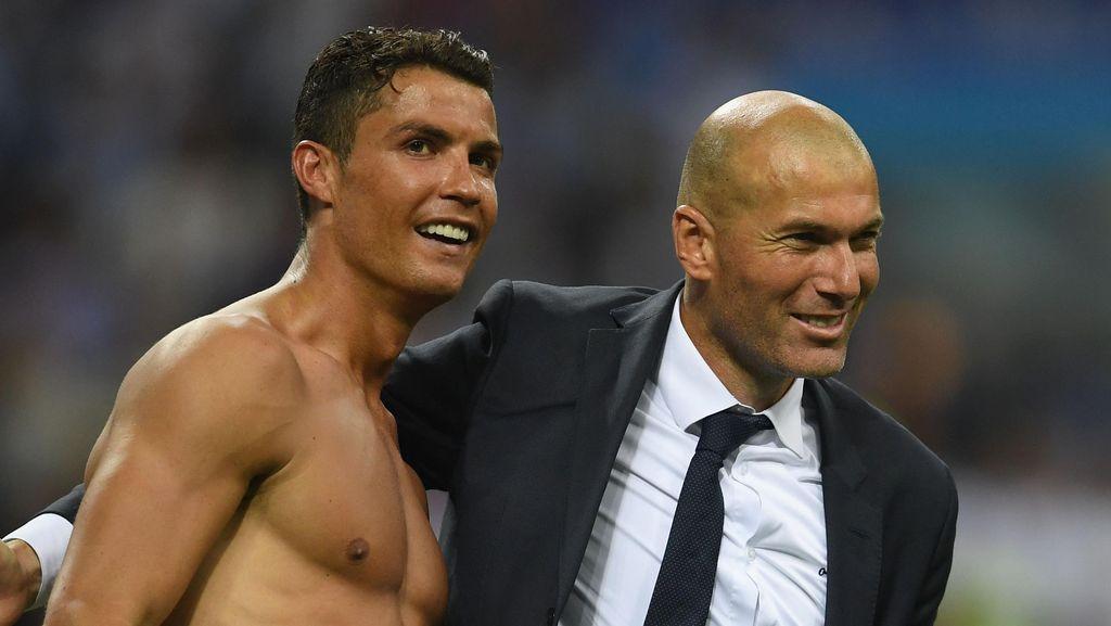 Ronaldo Soal Kesuksesan Musim Lalu: Penunjukan Zidane Kuncinya