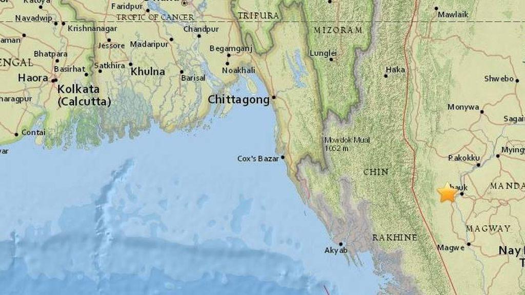 Gempa Myanmar, 3 Warga Lokal Meninggal Dunia dan 62 Pagoda Rusak